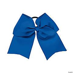 Team Spirit Blue Hair Bow