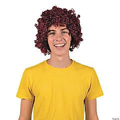 Team Spirit Burgundy Wig