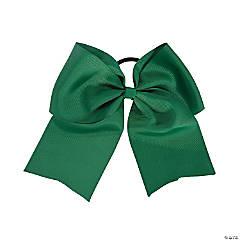 Team Spirit Green Hair Bow