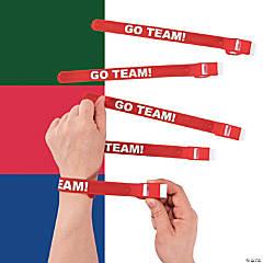 Team Spirit Whistle Slap Bracelets