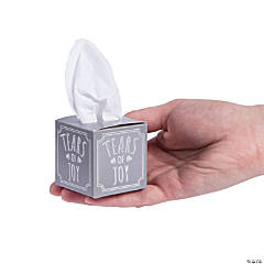 Tears of Joy Tissue Favor Boxes