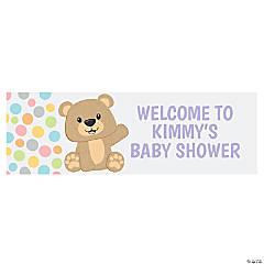 Teddy Bear Custom Banner - Large