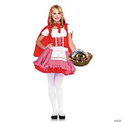 Teen Girl's Lil' Miss Red Riding Hood Costume - Medium