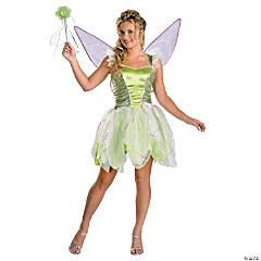 Teen Girl's Deluxe Tinker Bell Costume - Medium