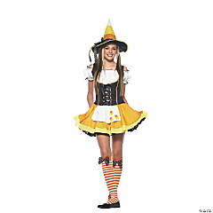 Teen Girl's Kandy Korn Witch Costume - Small