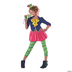 Teen Girl's Mad Hatter Costume - Large