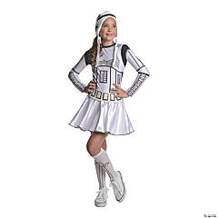 Teen Girl's Stormtrooper Costume