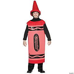 Teen's Red Crayola® Crayon Costume
