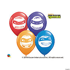Teenage Mutant Ninja Turtles™ Face Latex Balloon Assortment