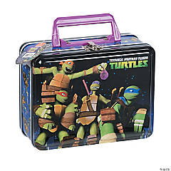 Teenage Mutant Ninja Turtles™ Tin Box with Handle