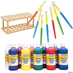 Tempera Paint Kit