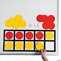 Ten Frame Math Magnets