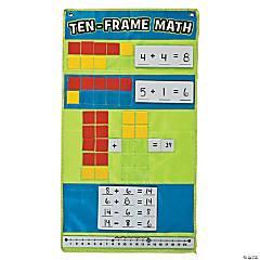 Ten Frame Math Pocket Chart