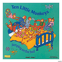 """""""Ten Little Monkeys (Classic Books With Holes Big Book)"""""""