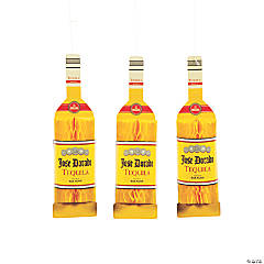 Tequila Bottle Hanging Honeycomb Decorations