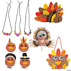 Terrific Turkey Craft Kit Assortment