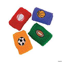 Terry Cloth Sport Ball Wristbands