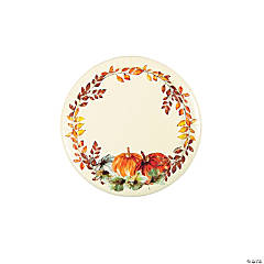 Thank-Fall Dessert Plate - 8 Ct.