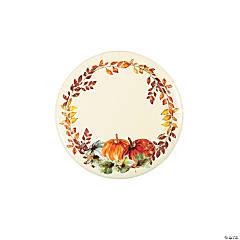 Thank-Fall Dessert Plate