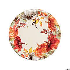 Thank-Fall Dinner Plates