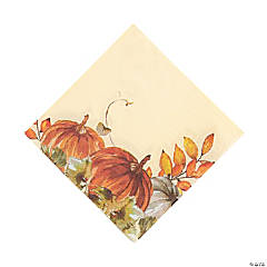 Thank-Fall Luncheon Napkins