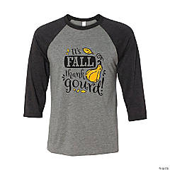 Thank Gourd It's Fall Adult's T-Shirt - Extra Large