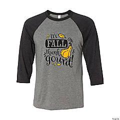 Thank Gourd It's Fall Adult's T-Shirt - Medium
