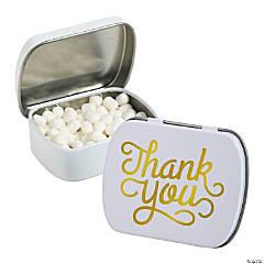 Thank You Mint Tins