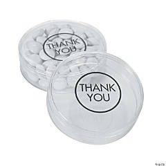Thank You Round Favor Container Kit