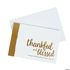 Thankful & Blessed Notecard Set