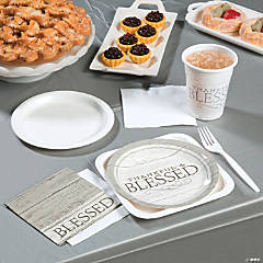 Thankful & Blessed Party Supplies