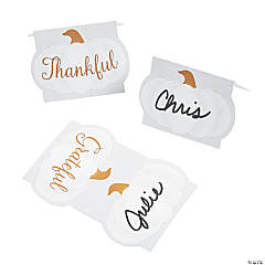 Thankful & Blessed Place Cards