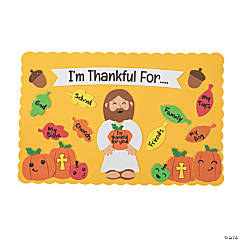 Thankful For Placemat Craft Kit