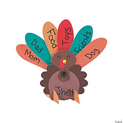 Thankful Turkey Place Card Craft Kit