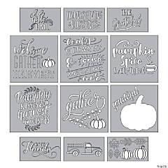 Thanksgiving Décor Stencils