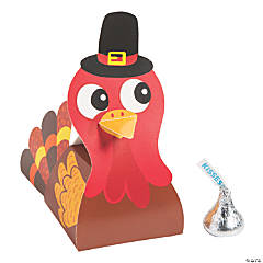 Thanksgiving Friends Turkey Favor Boxes