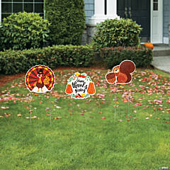 Thanksgiving Friends Yard Signs