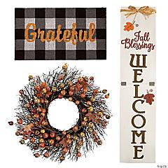 Thanksgiving Front Door Decorating Kit