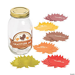 Thanksgiving Gratitude Mason Jar