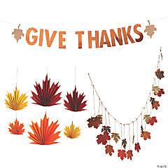 Thanksgiving Hanging Decoration Kit