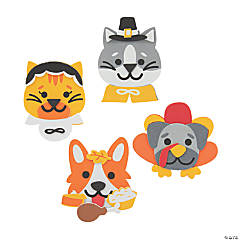 Thanksgiving Pet Magnet Craft Kit