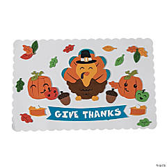 Thanksgiving Placemat Craft Kit