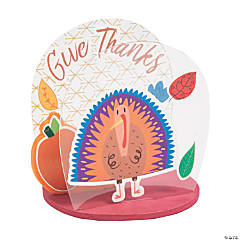 Thanksgiving Sticker Tabletop Craft Kit