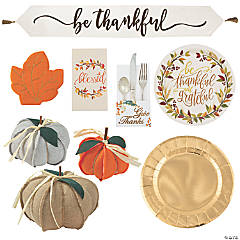 Thanksgiving Table Decorating Kit for 24
