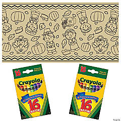 Thanksgiving Table Roll Craft Kit