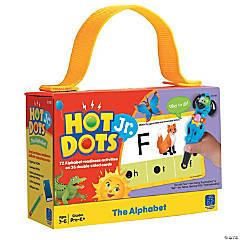 The Alphabet Hot Dots® Jr. Card Set, 72 per pack