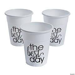 The Best Day Disposable Cups