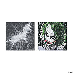 The Dark Knight™ Batman & The Joker Canvas Wall Art