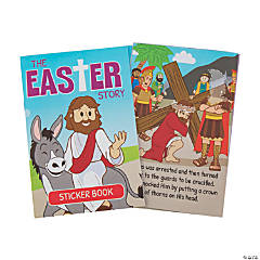 The Easter Story Sticker Books