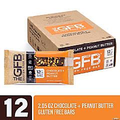 The GFB Gluten Free Bar Chocolate & Peanut Butter (2.05 oz, 12 Pack)